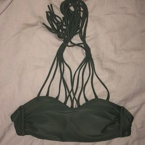 Strappy bathing suit top